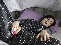 Asiática delgada se folla con un vibrador en señoras anal el casting