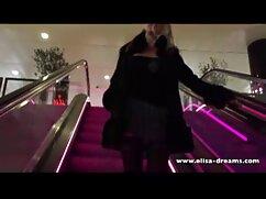 Rubia de Nueva York acaricia el videos de maduras mexicanas xxx coño en la calle